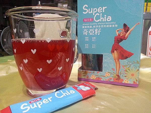 每日美Super Chia噹噹水每天都要來一杯