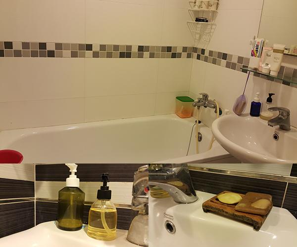 活力補給調養工作室-沐浴清潔-很乾淨