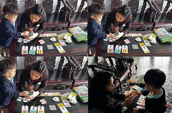 理特尚的數量遊戲-「數學」認知圖卡-小外甥認真數數