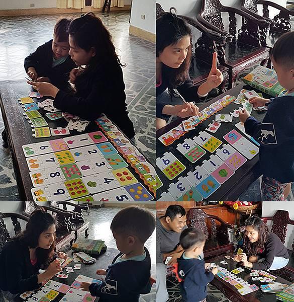 理特尚數量遊戲-「數學」認知圖卡-跟媽媽一起玩