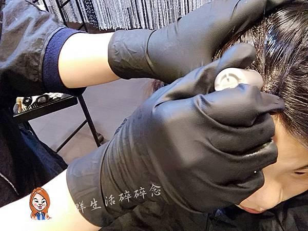 VIF染髮_哥德式AGN LX MOAR-檸檬草頭皮防護產品使用照.jpg