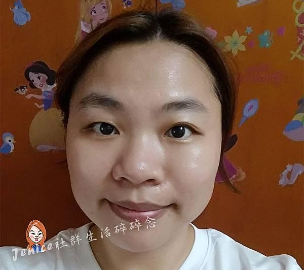 森田藥粧黑珍珠極致煥白面膜_產品使用照2.jpg