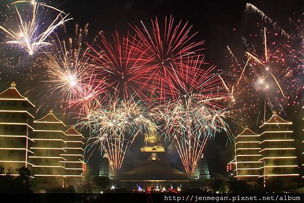 20130223-佛館提燈大會煙火... 再練