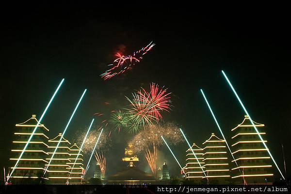 20130224-佛館提燈大會煙火... 最後一天練