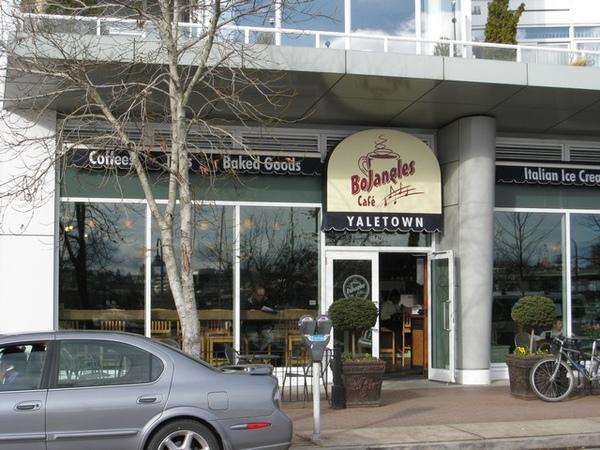 Bojangles Cafe Yaletown