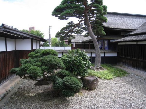 旁邊的庭院