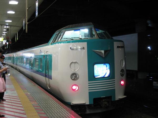 在新大阪車站拍到好可愛的車頭