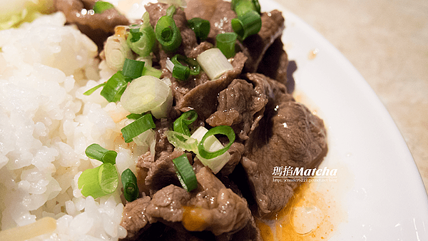 椒麻牛肉飯