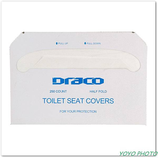 Draco toilet seat cover