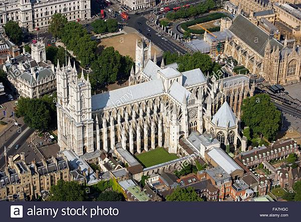 westminster-abbey-london-aerial-view-FA7HGC.jpg