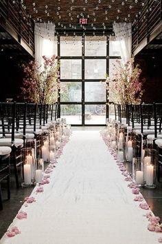冬季婚禮佈置1