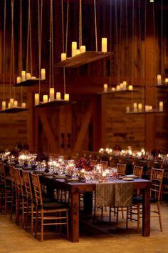 冬季婚禮佈置4
