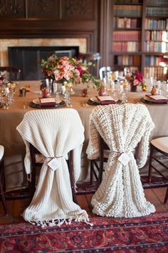 冬季婚禮佈置3
