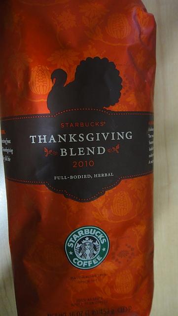 2010星巴客感恩節咖啡
