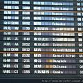搭乘長榮2132班機去關西機場