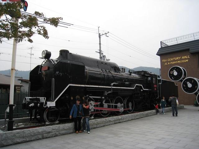 トロッコ嵯峨野列車