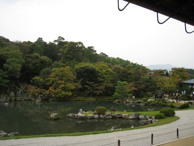 天龍寺庭院