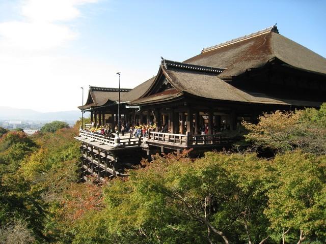 清水寺本堂奧之院