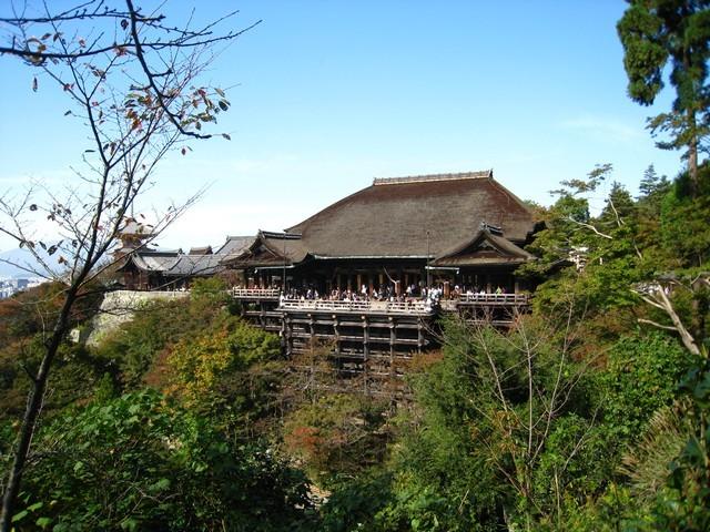 喜歡清水寺的建築