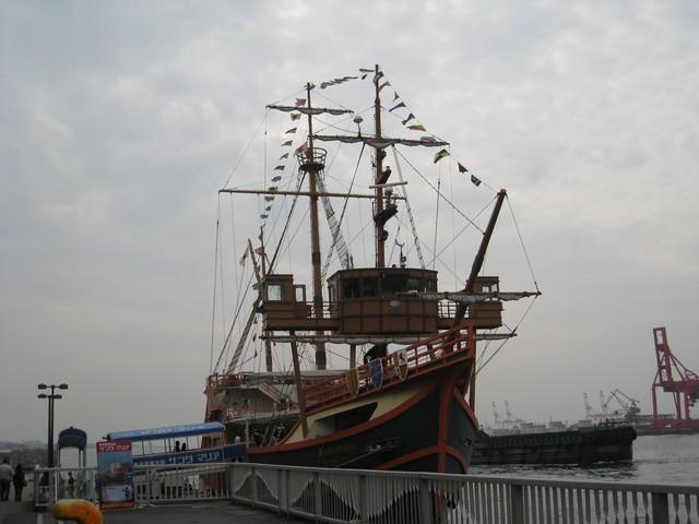 坐船去遊大阪港