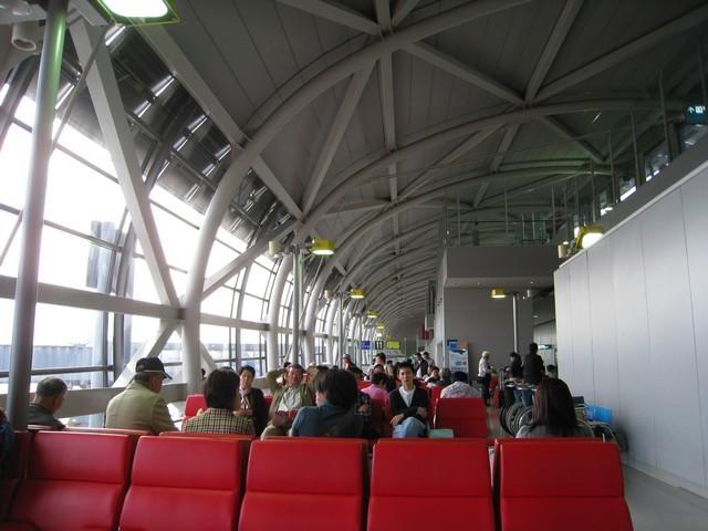 關西機場,要回家啦!