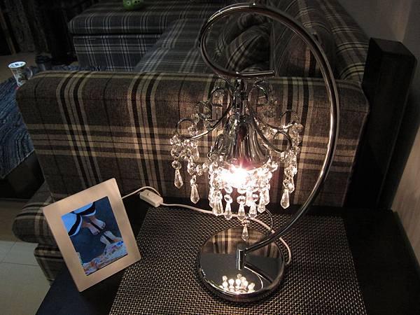 HOLA 婕娜金屬水晶桌燈 (25)