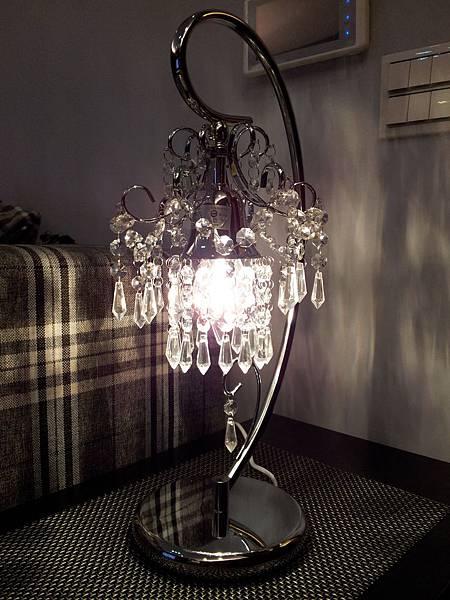 HOLA 婕娜金屬水晶桌燈 (11)