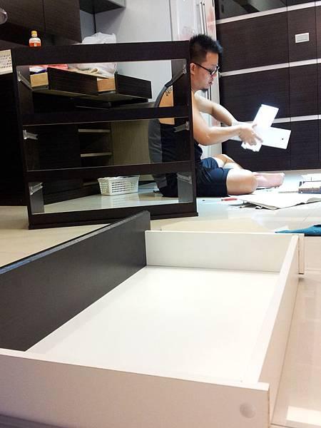 IKEA KULLEN 3抽抽屜櫃 (43)
