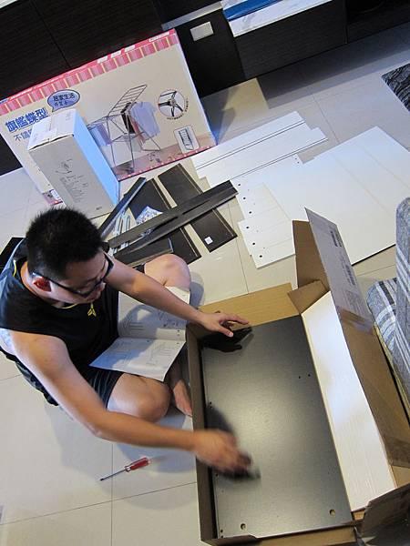 IKEA KULLEN 3抽抽屜櫃 (1)