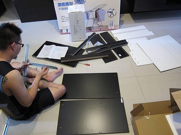 IKEA KULLEN 3抽抽屜櫃 (3)