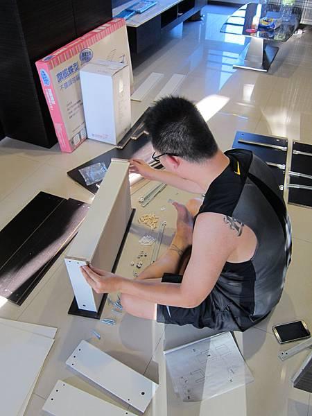 IKEA KULLEN 3抽抽屜櫃 (14)