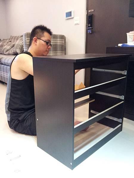 IKEA KULLEN 3抽抽屜櫃 (34)