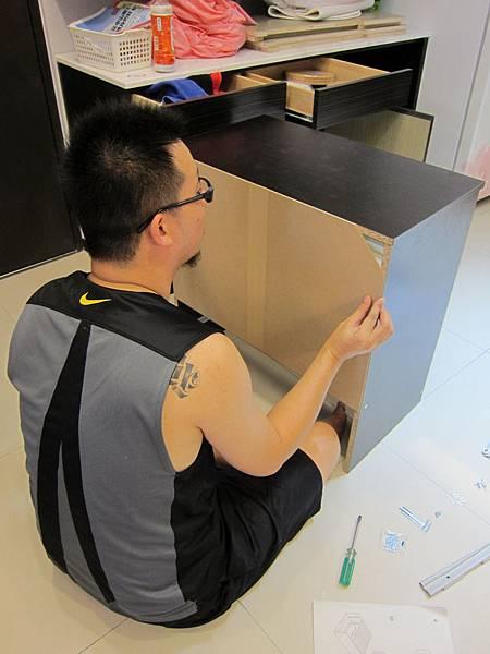 IKEA KULLEN 3抽抽屜櫃 (36)