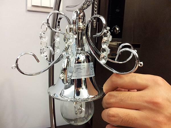 HOLA 婕娜金屬水晶桌燈 (1)