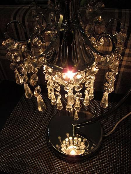 HOLA 婕娜金屬水晶桌燈 (15)