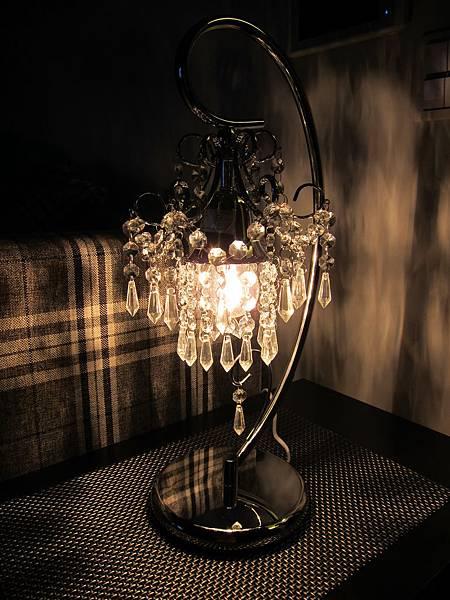 HOLA 婕娜金屬水晶桌燈 (12)