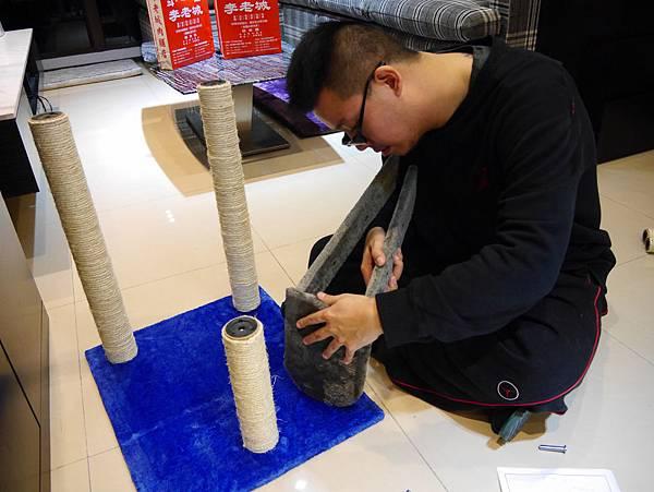 豪華貓爬架 貓跳台 貓窩 貓屋 貓吊床 貓玩具 (12)