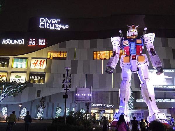 日本 淺草雷門大門酒店 台場Diver City (239)
