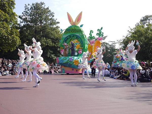 Tokyo Disneyland 東京迪士尼樂園 日間遊行 NEW 蹦蹦跳跳戲春天 (16)