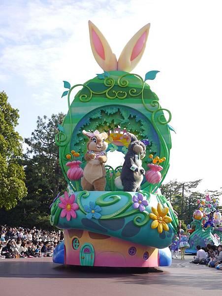 Tokyo Disneyland 東京迪士尼樂園 日間遊行 NEW 蹦蹦跳跳戲春天 (24)