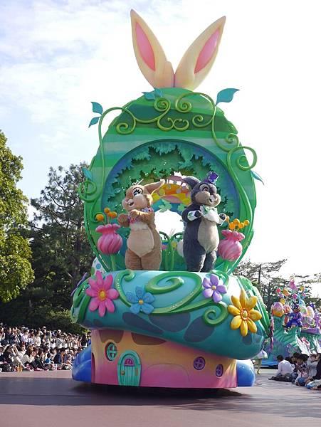 Tokyo Disneyland 東京迪士尼樂園 日間遊行 NEW 蹦蹦跳跳戲春天 (25)