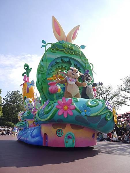 Tokyo Disneyland 東京迪士尼樂園 日間遊行 NEW 蹦蹦跳跳戲春天 (28)