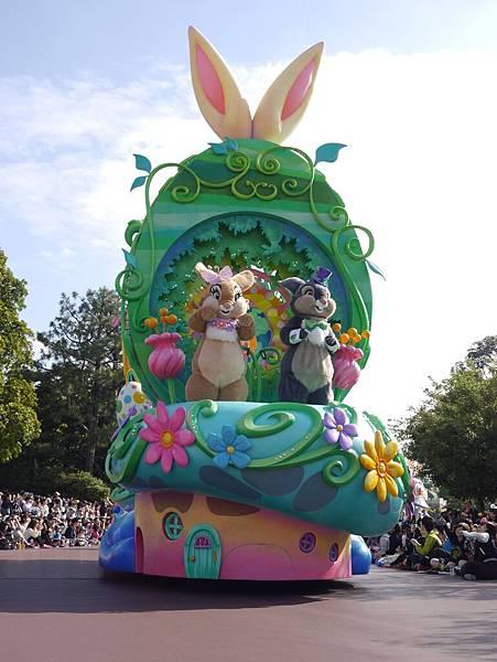 Tokyo Disneyland 東京迪士尼樂園 日間遊行 NEW 蹦蹦跳跳戲春天 (27)