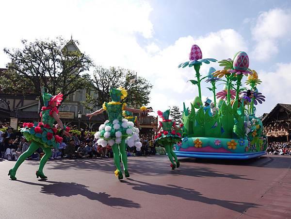 Tokyo Disneyland 東京迪士尼樂園 日間遊行 NEW 蹦蹦跳跳戲春天 (57)