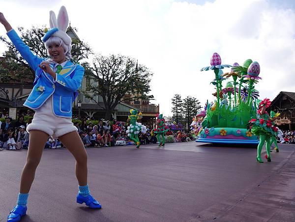 Tokyo Disneyland 東京迪士尼樂園 日間遊行 NEW 蹦蹦跳跳戲春天 (86)