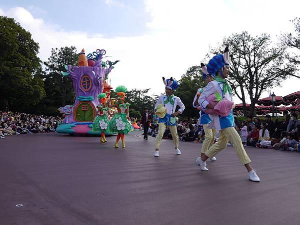 Tokyo Disneyland 東京迪士尼樂園 日間遊行 NEW 蹦蹦跳跳戲春天 (97)