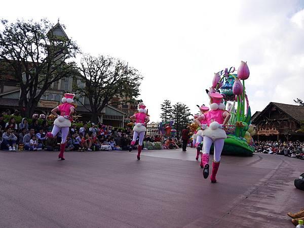 Tokyo Disneyland 東京迪士尼樂園 日間遊行 NEW 蹦蹦跳跳戲春天 (121)