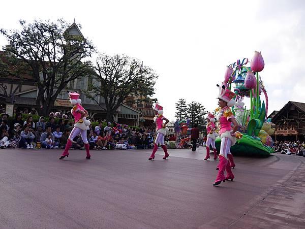 Tokyo Disneyland 東京迪士尼樂園 日間遊行 NEW 蹦蹦跳跳戲春天 (120)
