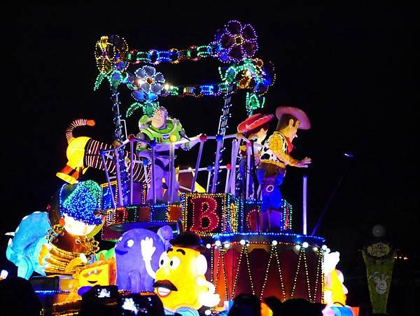 Tokyo Disneyland 東京迪士尼樂園 夜間遊行 東京迪士尼夢之光夜間遊行 (71)