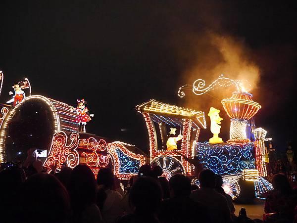 Tokyo Disneyland 東京迪士尼樂園 夜間遊行 東京迪士尼夢之光夜間遊行 (12)
